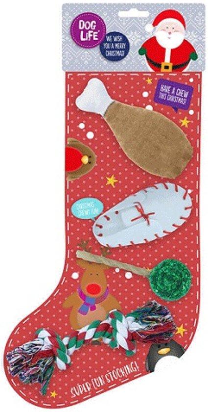 Kauw en Speel Kerst Sok