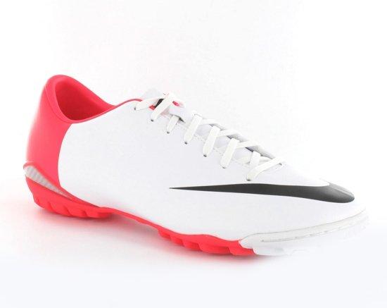 new arrival db4d7 cd343 Nike Mercurial Glide III TF - Kunstgrasvoetbalschoenen - Volwassenen - Maat  45.5 - Wit Rood