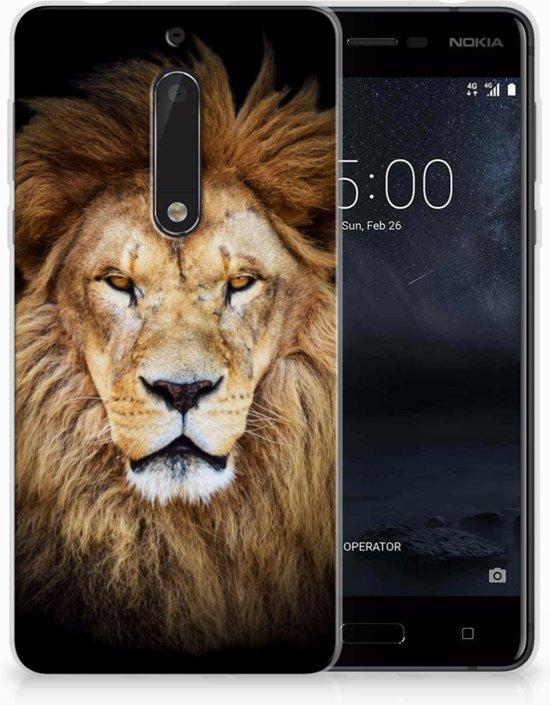 Nokia 5 Uniek TPU Hoesje Leeuw in Tavier