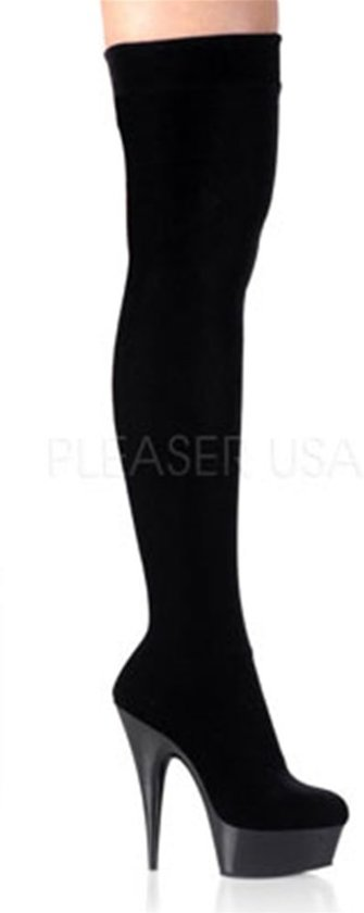 Delight Velveteu Black 40Us 3002 10Pleaser kTXulwZiOP