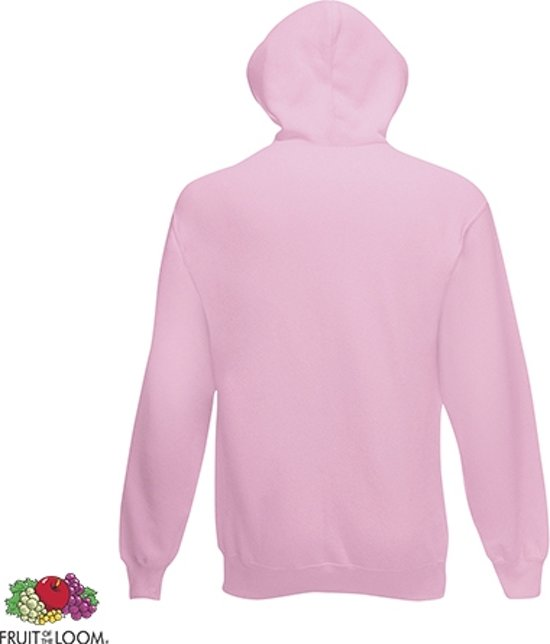 Fruit Of The Loom Hoodie Light Pink Maat S Dubbellaagse Capuchon b5RYpgoi