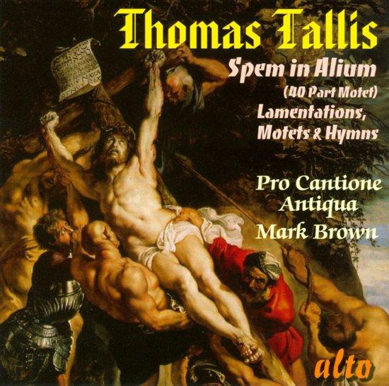 Tallis Spem In Alium/Lamentations