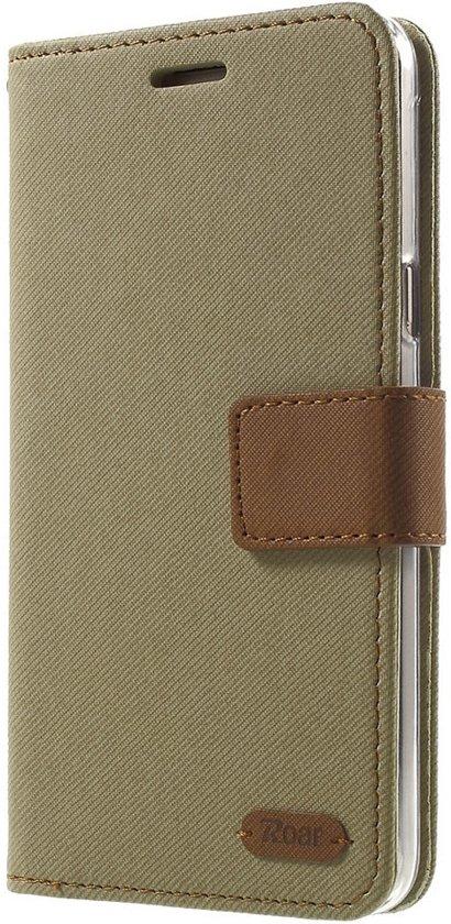 Roar - Samsung Galaxy J5 (2016) Hoesje - Wallet Case Denim Khaki in Heidekant