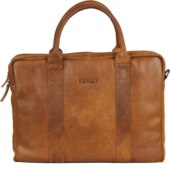 DSTRCT Limited Laptoptas - 15,6 inch - cognac