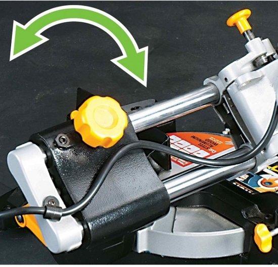 Evolution RAGE3-S Radiaal afkortzaag 210 mm + 2 extra bladen