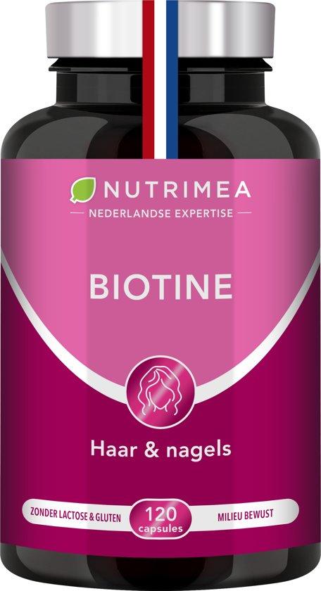 Bol Com Biotine Haar Nagels Huid Vitamine B Zink 120