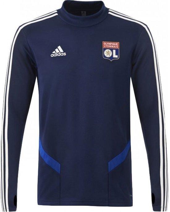 Adidas Olympique Lyon Trainingstop Blauw Heren 19/20