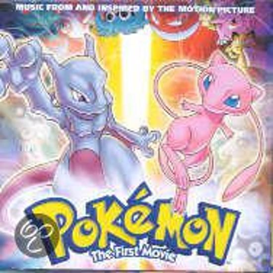 CD cover van Pokemon: The First Movie van Christina Aguilera