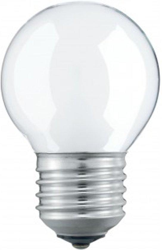 Kogellamp E27 230v 40w MAT