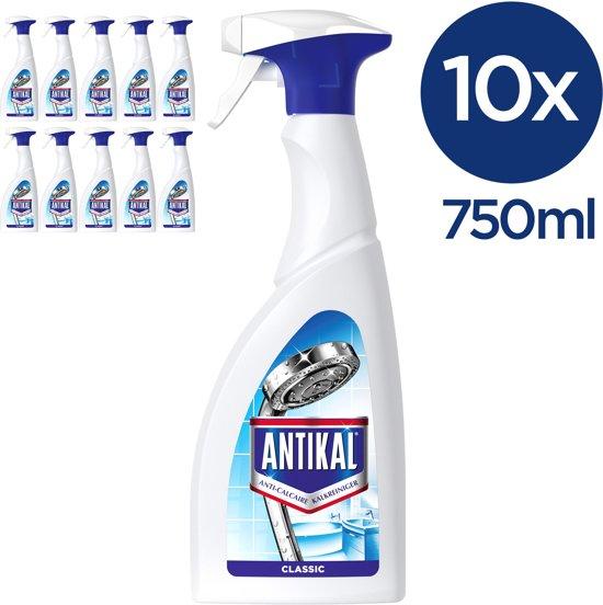 Antikal Spray - Voordeelverpakking 10x750 ml - Kalkreiniger