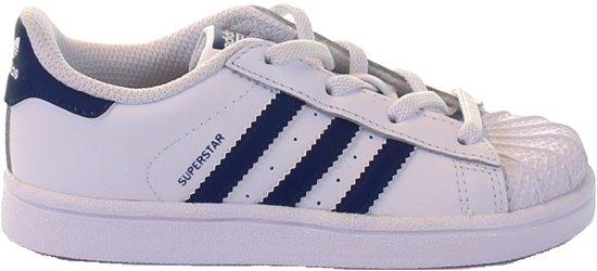 Adidas Jongens Sneakers Superstar El I J Wit Maat 20