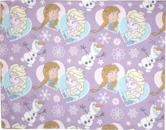 Frozen fleece deken - 150 x 120 centimeter - Disney plaid