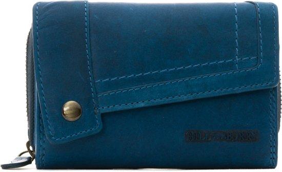 e784fd7bdaf Hillburry - VL77704 - 3698 - portemonnee - blauw - leer