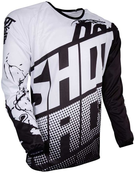 Shot Kinder Crossshirt Devo Venom Black/White-XL