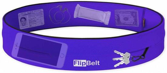Flipbelt - Running belt - Hardloop belt- Hardloop riem - Paars - L