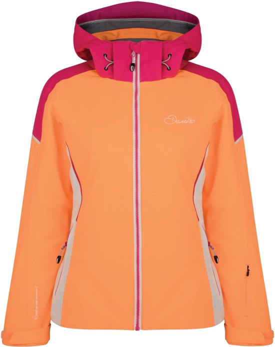 Dare2b Contrive Jacket Wintersportjas Vrouwen MAAT XXXL Oranje