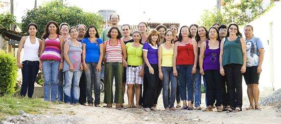 Gelukspoppetje zwanger, gemaakt door Nilza in Brazilie (5) stuks