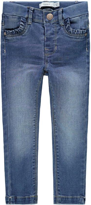 9777a2dfe25dd3 bol.com   Name it Meisjes Jeans - Medium Blue Denim - Maat 74