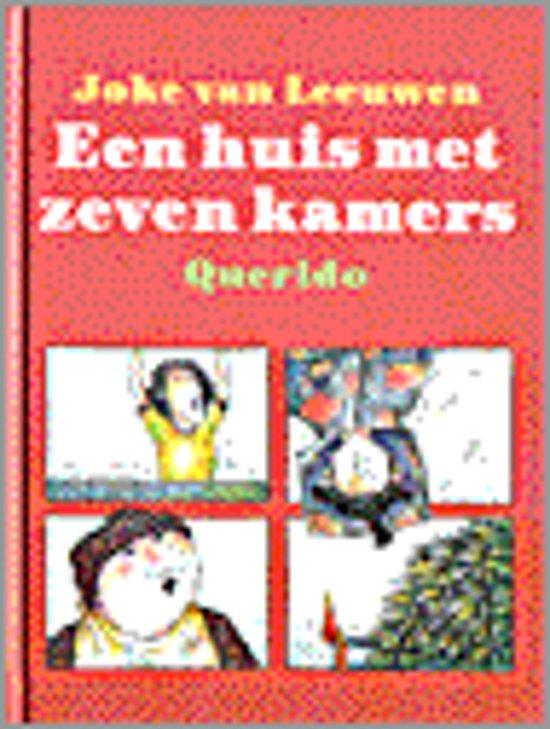 Boek cover Een huis met zeven kamers van Joke van Leeuwen (Hardcover)