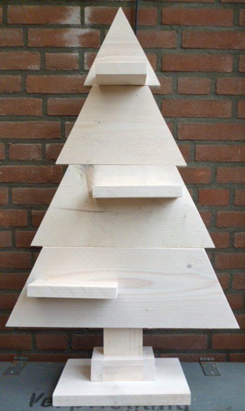 houten kerstboom wit steigerhout 90cm