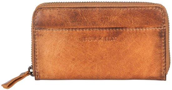 BURKELY Noble Nova Wallet M Frontpocket Portemonnee Cognac 870665