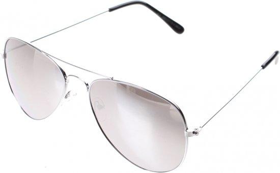 71b6082fb1583c Lifetime-vision Zonnebril Dames Zilver Met Zilveren Spiegellens