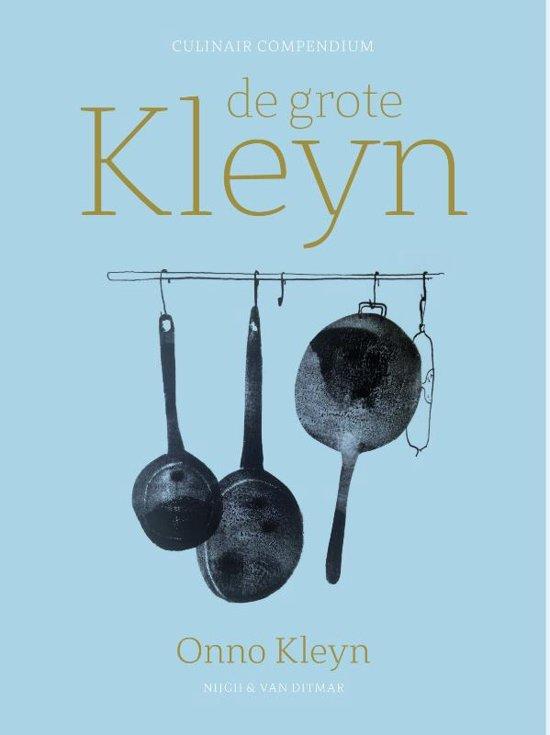 Boek cover De grote Kleyn van Onno H. Kleyn (Hardcover)