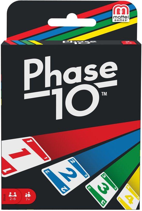 Afbeelding van Phase 10 - Kaartspel speelgoed