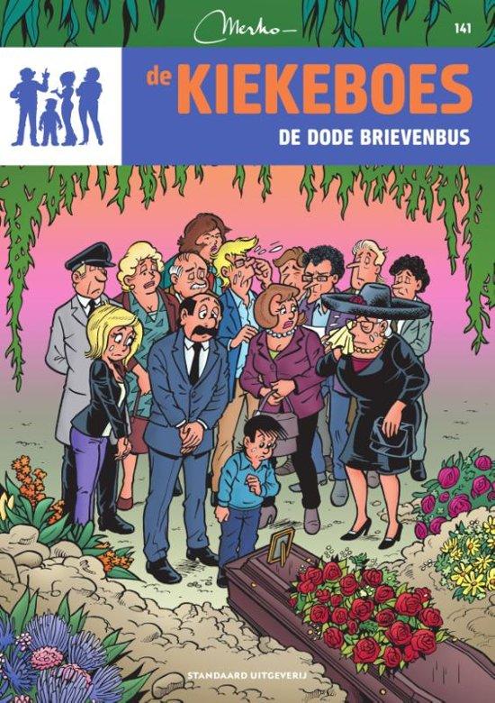 Boek cover De Kiekeboes 141 - De dode brievenbus van Merho (Paperback)