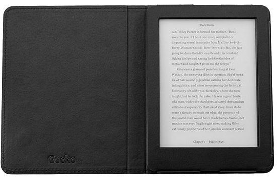 Gecko Covers Kobo Glo HD Hoes Luxe in Westerein / Westerend