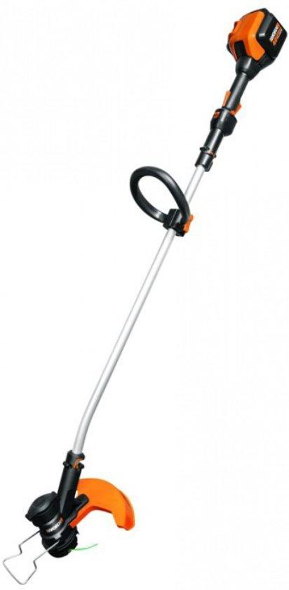 WORX WG168E | Bosmaaier | grastrimmer | Accu 40 Volt | Lithium Ion | Snellader | Maaibreedte 33 cm