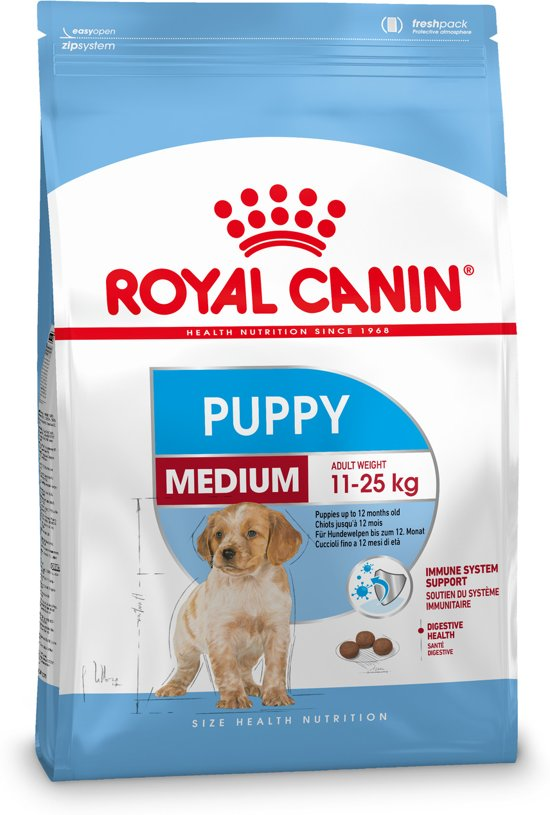 Royal Canin Medium Junior - Puppyvoer - 4 kg