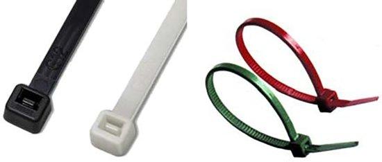 Tie rips zwart (lengte: 430mm, dikte 7.6mm) 100 stuks (GS38260)