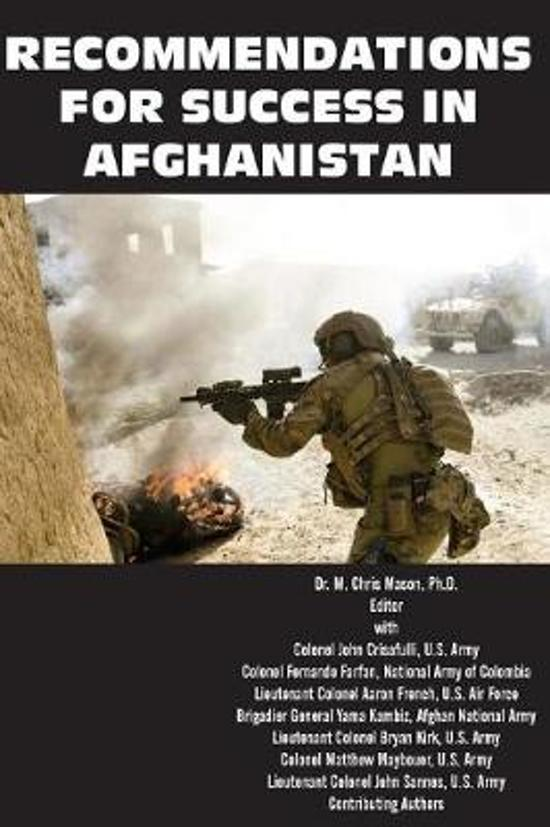 Recommendations for Success in Afghanistan