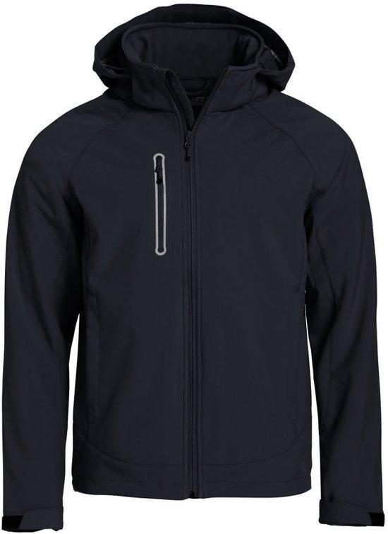 Clique Milford softshell jacket heren zwart xs
