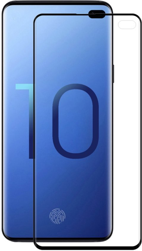 Samsung Galaxy S10 Plus - Screen Protector Clear - Zwart