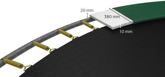 BERG Favorit InGround Trampoline à 270 cm met Veiligheidsnet Comfort