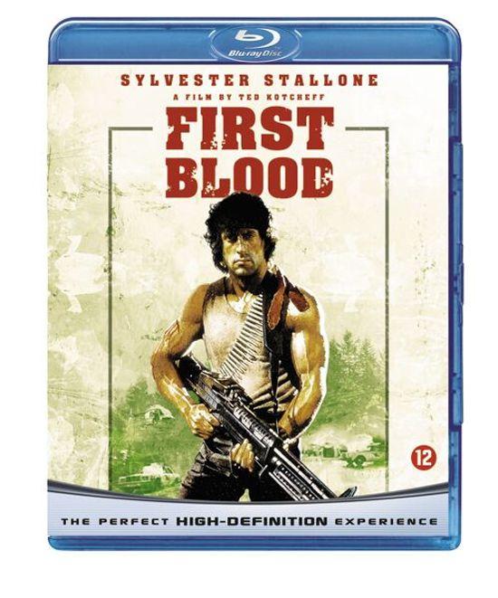 Cover van de film 'Rambo I - First Blood'
