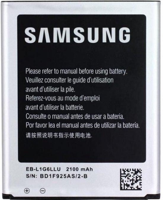 Samsung Batterij - EB-L1G6LLU voor Galaxy S3 Neo en Galaxy S3