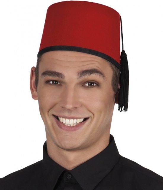 Fez hoed voor volwassenen