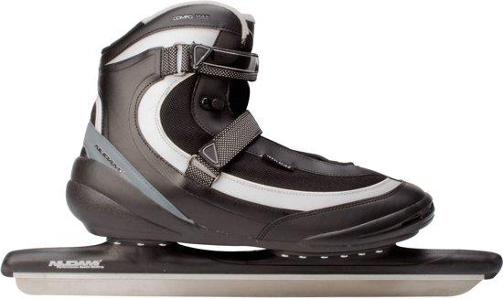 Nijdam 3416 Norenschaats Pro-line - Softboot - Volwassenen - Zilver - Maat 40