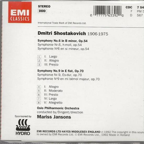 Top Honderd | Zoekterm: dmitri shostakovich symphonies