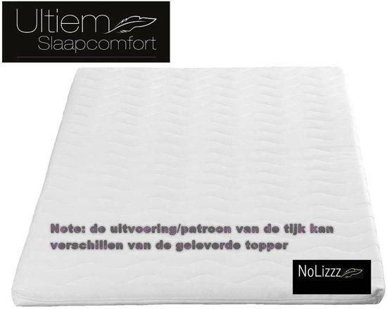 Top Matras Nasa Traagschuim High Quality - (NoLizzz Nederland Topper)