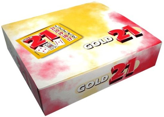 Gold 21 spel | 1000 tickets