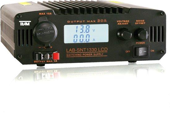 Team LAB-SNT1330  LCD Schakelende netvoeding 25-30 ampère in Klazienaveen