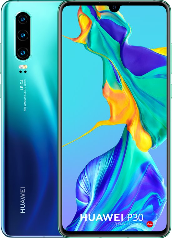 Huawei P30 - 128GB - Twilight Blauw (Aurora)