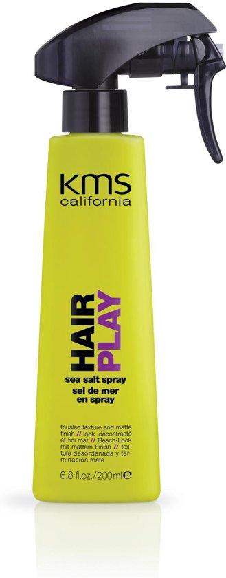 SALE KMS Hair Play Sea Salt Spray Hold 1 - Shine 0 200ml