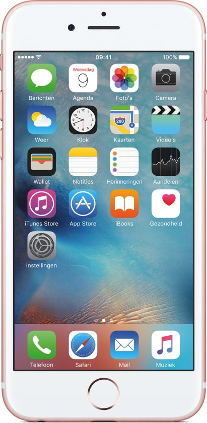 2ND (refurbished) iPhone 6S 64GB RoséGoud in Stroobos / Strobos