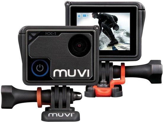 Veho Muvi KX-1 actie camera 4K Ultra HD WiFi - 4K kwaliteit - 12MP foto - inclusief waterproef case - touchscreen - inclusief APP - VCC-008-KX1