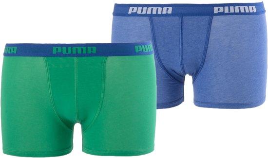 Puma Boxershort - Maat 140  - Jongens - groen/blauw